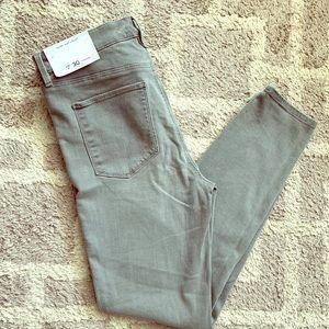 Gray Loft Legging Jeans